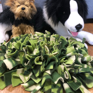 Snuffle Mat Green Camo - Small