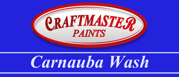 Carnauba wash craftmaster paints online shop for Low tack tape for crafting