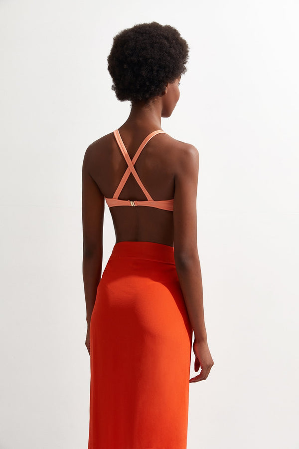 Draped Skirt - OYE Swimwear