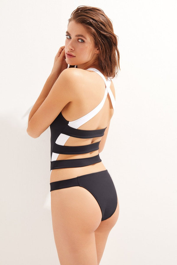 Leeloo B&W - OYE Swimwear