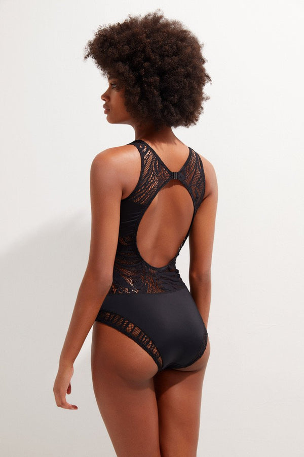 Selina with Lace - OYE Swimwear