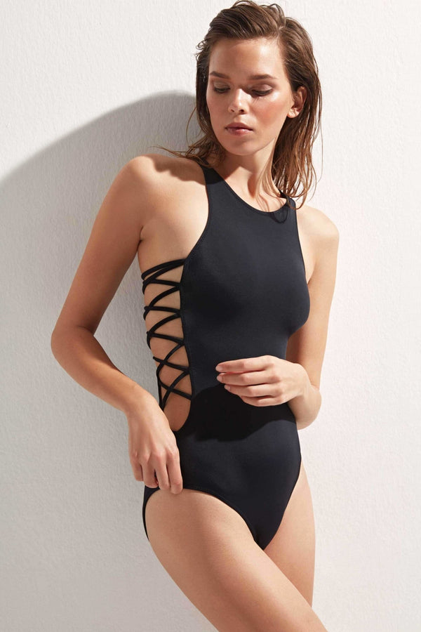 Stella Lace Up - OYE Swimwear