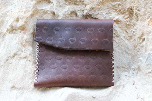 Morocco Wallet- Dark Brown