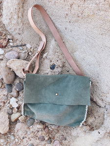 Suede Side Bag