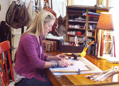 "Martha's Vineyard Times profiles rebeccah j ""leather love"""