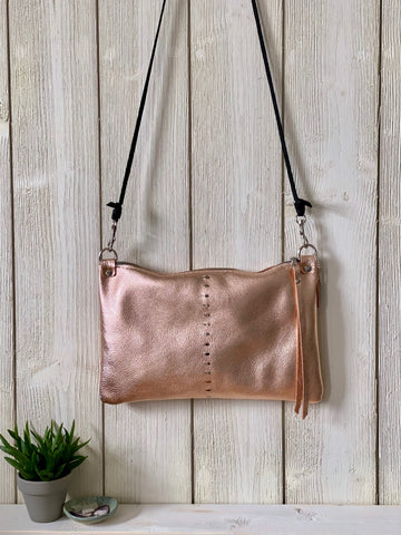 Etta Bag in Rose Gold