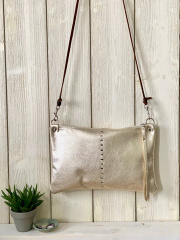 Etta Bag in Champagne