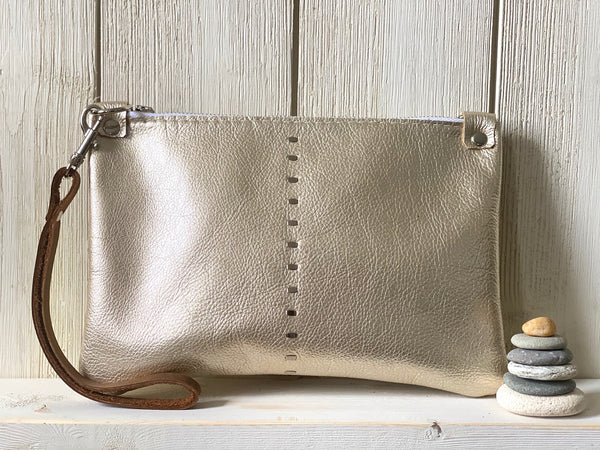 Etta Mini Bag in Champagne