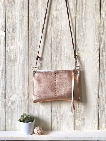 Etta Mini Bag in Rose Gold
