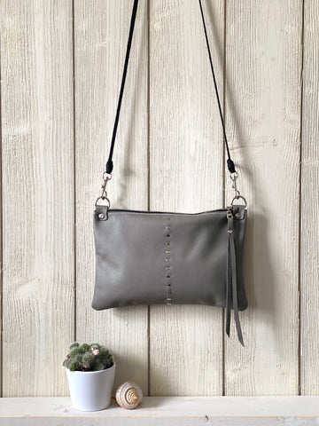 Etta Mini Bag in Gray
