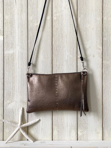 Etta Bag in Pewter