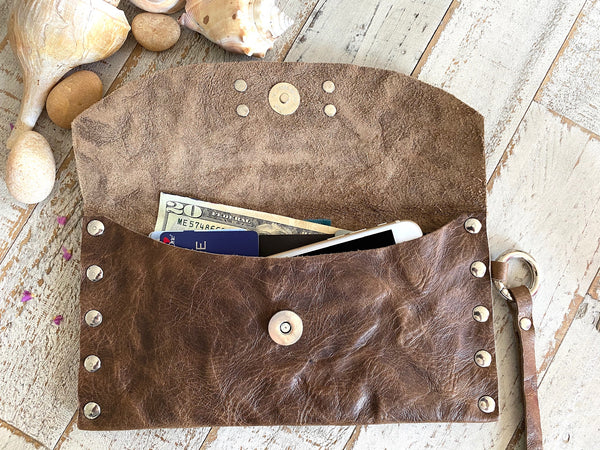 Signature Wallet in Woodland