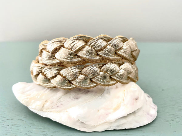 Braided Wrap Bracelets