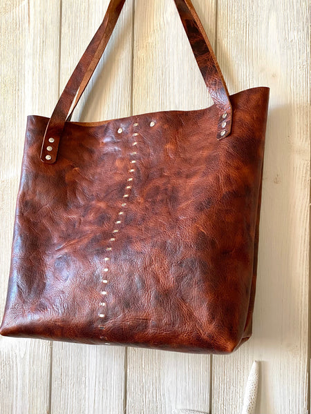 Luna Tote in Woodland ~ Medium