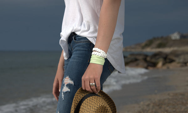 Sliced Wrap Bracelets