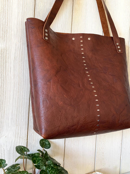 Luna Tote in  Walnut ~ Medium