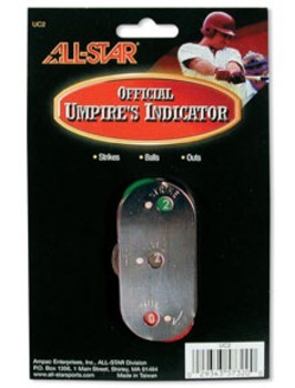 All Star Stainless Steel Umpire Indicator | UC2