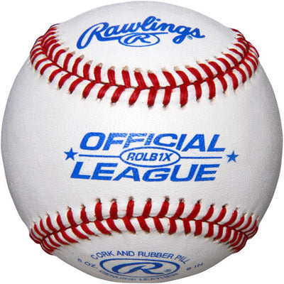 RawlIngs 30 Baseballs With Bucket ROLB1X