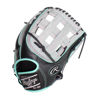 Rawlings Heart of the Hide Hyper Shell 12.75 inch Outfield Glove PRO3319-6BGCF