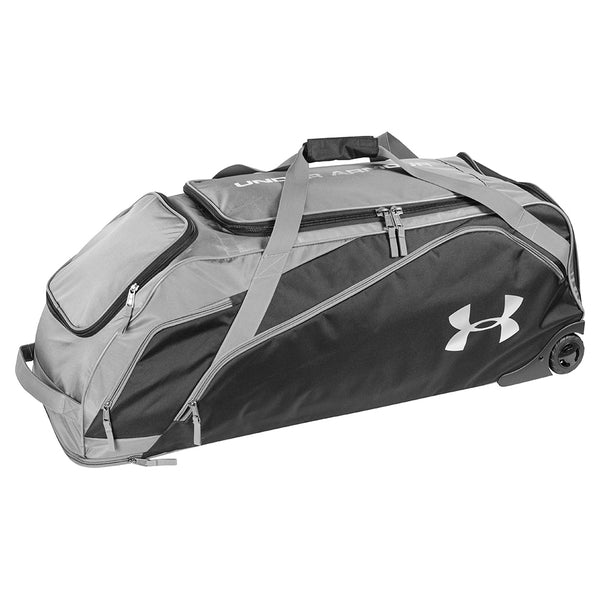 30faab32b6 Under Armour On Deck Roller 2 Wheeled Duffle UASB-ODRB2 - Baseball ...