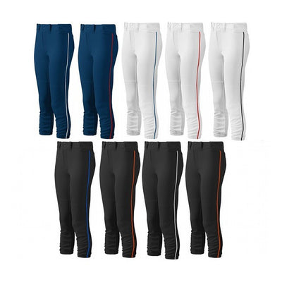 Mizuno Womens Select Belted Piped Pants