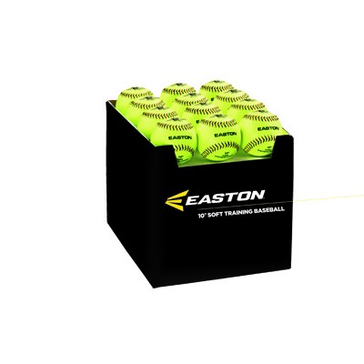 "Easton 12"" SoftTouch Training Balls 24 Pack 