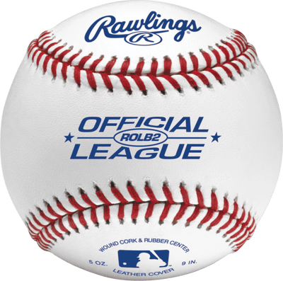Rawlings Official League Leather Practice Baseball - ROLB2