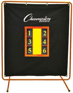 Champion Sports Pro Pitchers Screen With Stand | PS6052