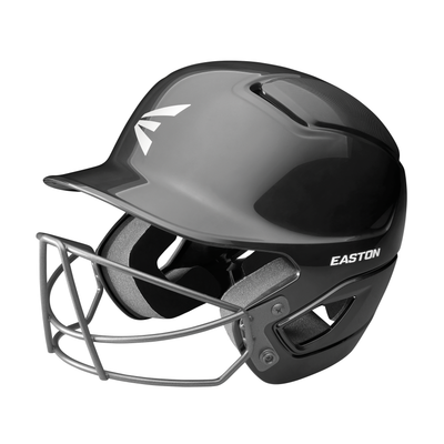 Easton Alpha Solid Baseball Helmet with Mask