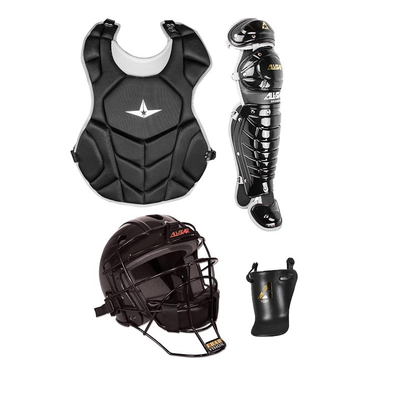 All Star League Series T Ball Catchers Gear Set - NOCSAE Approved