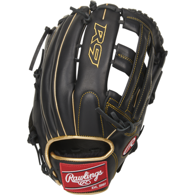 Rawlings R9 12.75 inch Outfield Glove R93029-6BG