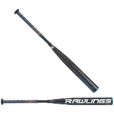 Rawlings Quatro Pro Fastpitch Softball Bat Drop10 FPZP10