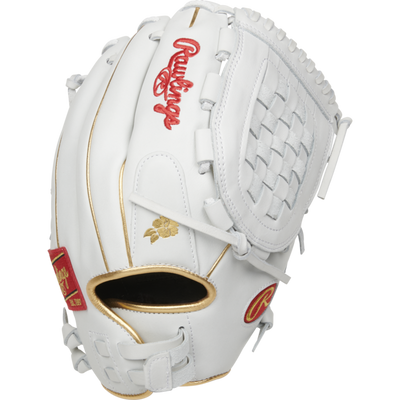 Rawlings Liberty Advanced 12.5 inch White Fastpitch Glove RLA125KRG