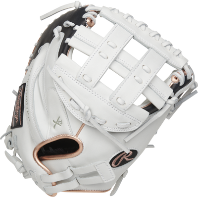 Rawlings Liberty Advanced 33 inch White Fastpitch Catchers Mitt RLACM33RG