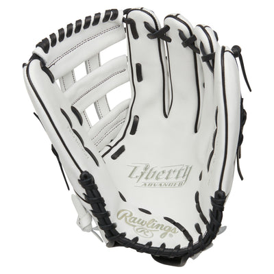 Rawlings Liberty Advanced 13 inch White Fastpitch Softball Glove RLA130-6WB