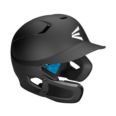 Easton Z5 Matte Solid Baseball Helmet with Universal Jaw Guard
