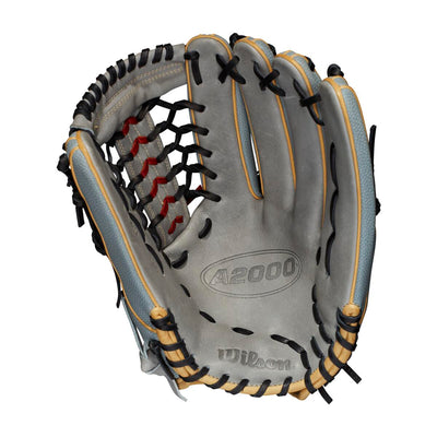 The Wilson A2000 Fastpitch T125SS 12.5 inch softball outfield glove