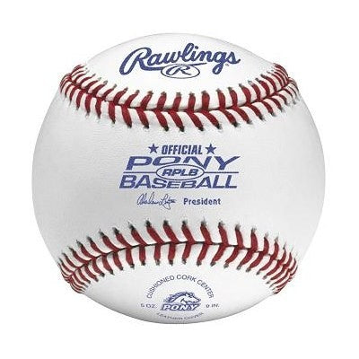 Rawlings - Official Pony League Baseball - RPLB