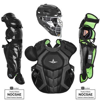 Allstar SEI Certified System 7 Axis Solid Adult Catchers Set CKCCPRO1X-S
