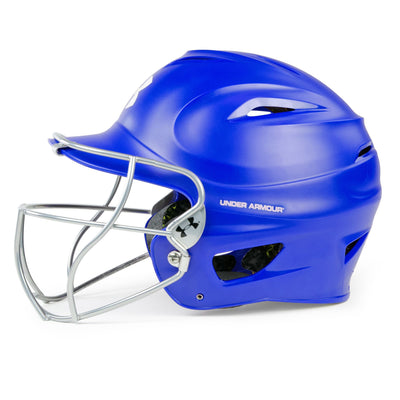 Under Armour Matte Molded Adult Softball Helmets UABH-100MM-FGS2