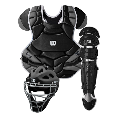 Wilson C1K NOCSAE Adult Catchers Gear Set A4603