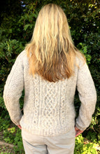 Load image into Gallery viewer, Hand Knitted Women's Pure Scottish Aran Wool Jumper