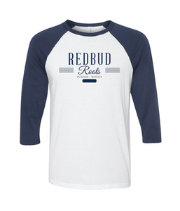 Redbud Roots Signature 3/4 Sleeve Baseball T