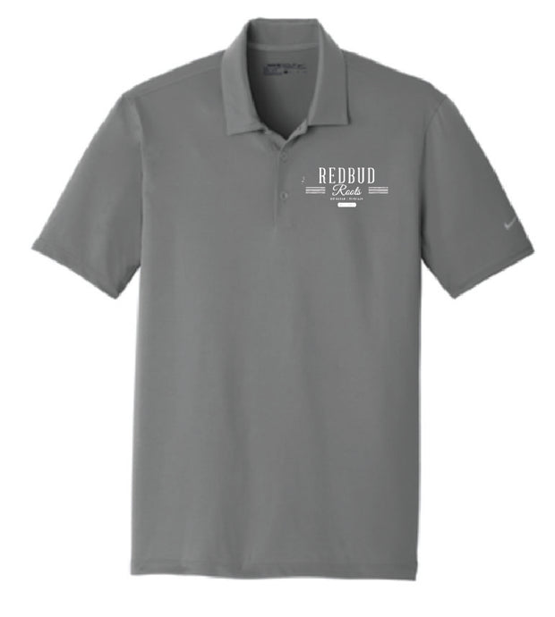 Redbud Roots Signature Nike Dri-FIT Polo - 2 Colors