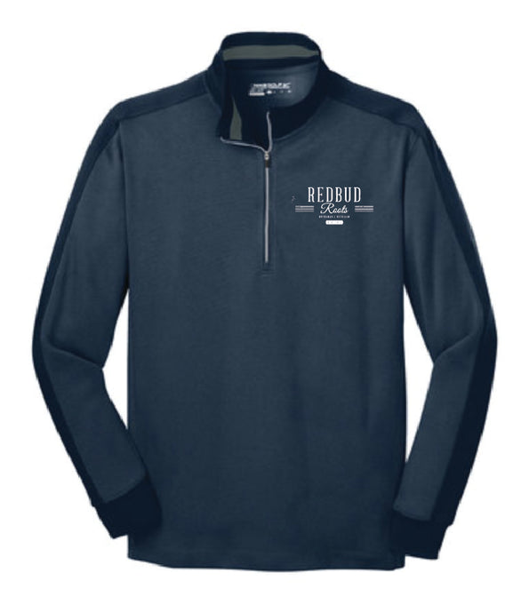 Redbud Roots Signature Nike Dri-FIT Half-Zip Pullover