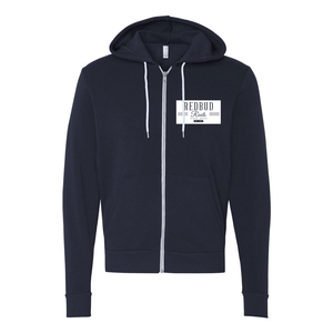 Redbud Roots Signature Full Zip Hooded Sweatshirt
