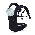 Soft Cotton Baby Carrier Backpack with Hood and Sling
