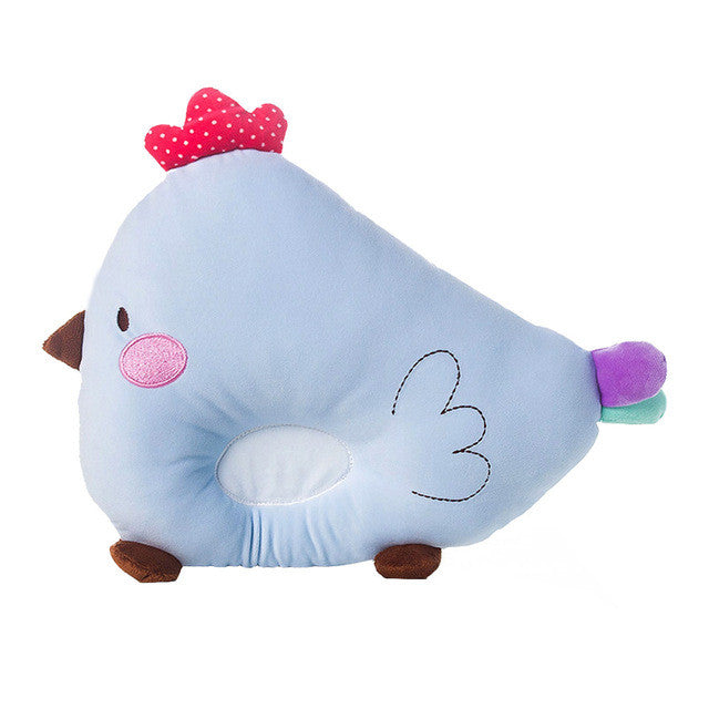 Soft Padded Chicken Design Baby Pillow