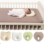 Memory Foam Comfortable Padded Heart Shape Baby Pillow