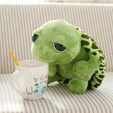 Small Adorable Plush Cuddle Tortoise Toy with Big Eyes
